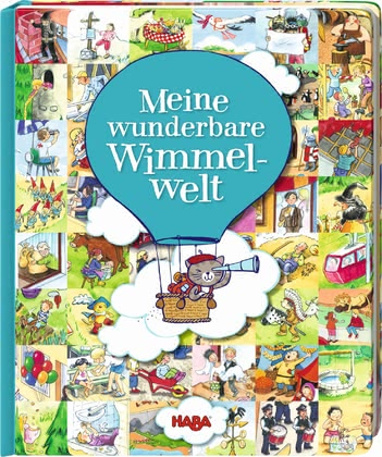 "Haba Board Book ""My Wonderful World of Hidden Objects"" - * Haba cardboard storybook ""My wonderful world"" – This storybook offers infinite possibilities for looking and discovering."