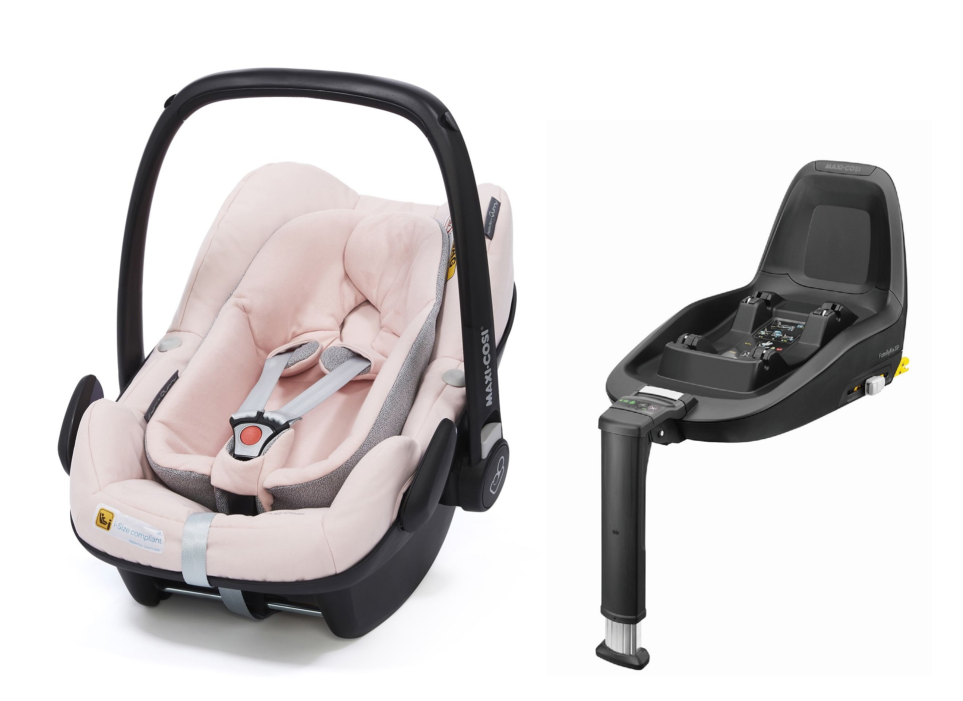 maxi cosi infant car seat pebble plus including 2wayfix 2018 blush buy at kidsroom car seats. Black Bedroom Furniture Sets. Home Design Ideas