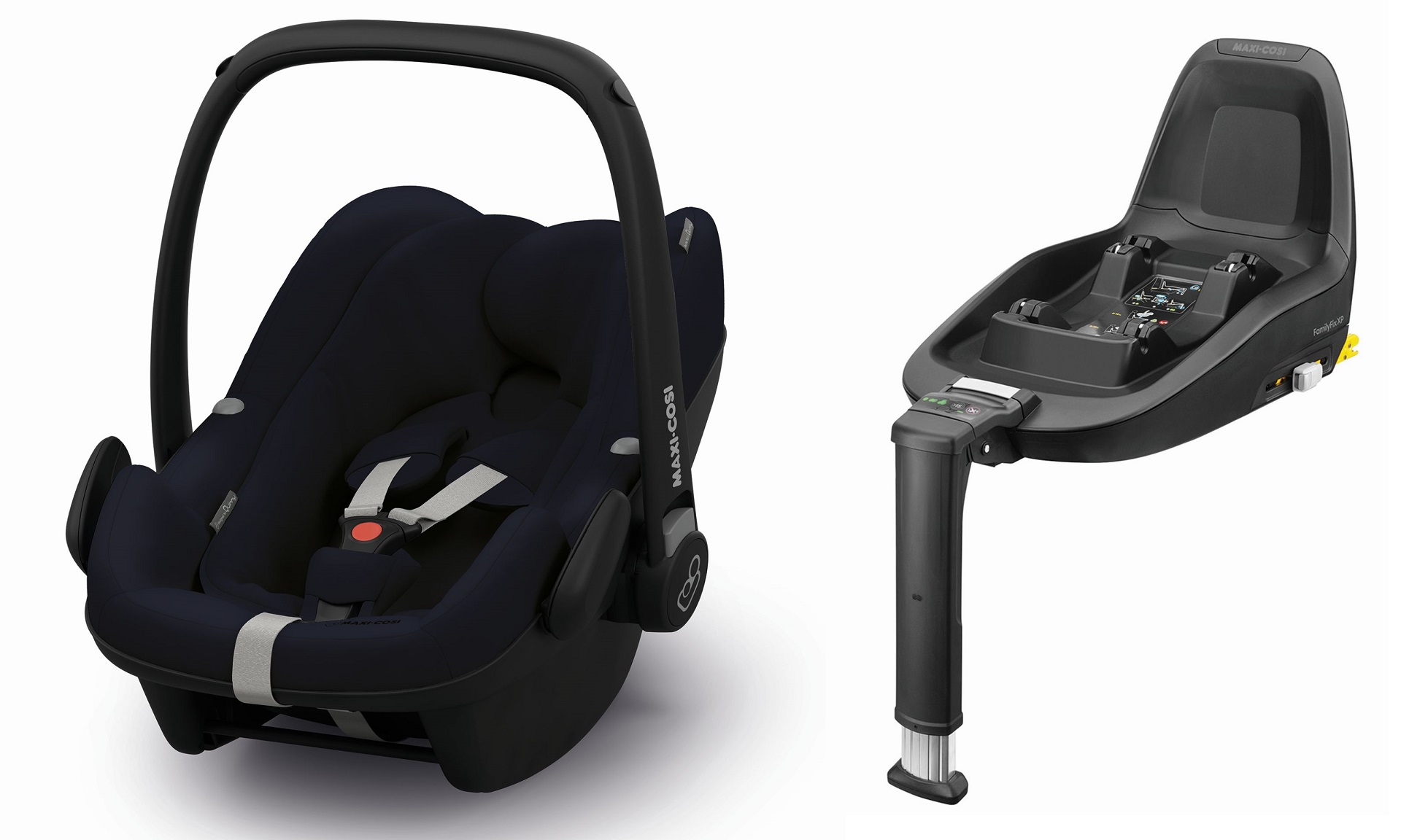 maxi cosi infant car seat pebble plus including 2wayfix 2019 midnight blue buy at kidsroom. Black Bedroom Furniture Sets. Home Design Ideas