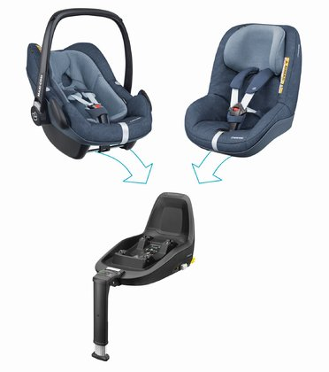 Maxi-Cosi 2Way Family Concept - * Maxi-Cosi 2Way Family Concept – Traveling can be so easy and safe – this set will convince you from the day of birth on until approximately 4 years of age.