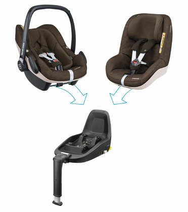 Maxi-Cosi 2Way Family Concept Nomad Brown 2018 - large image