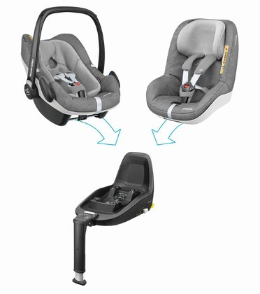 Maxi-Cosi 2Way Family Concept Nomad Grey 2018 - large image