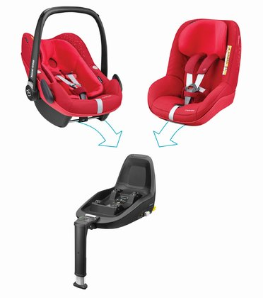 Maxi-Cosi 2Way Family Concept Vivid Red 2018 - large image