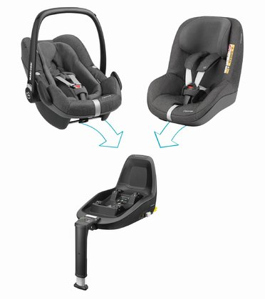 Maxi-Cosi 2Way Family Concept Sparkling Grey 2018 - large image