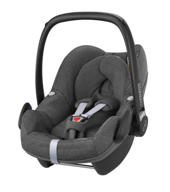maxi cosi stella incl carrycot and infant car seat pebble 2017 sparkling grey buy at kidsroom. Black Bedroom Furniture Sets. Home Design Ideas