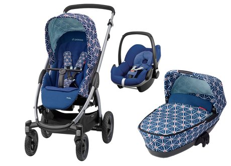Maxi-Cosi Stella incl. Carrycot and Infant Car Seat Pebble Star 2016 - large image