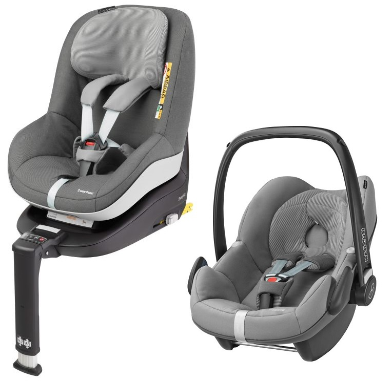 maxi cosi pebble incl 2way pearl and 2way fix base 2017 concrete grey buy at kidsroom car seats. Black Bedroom Furniture Sets. Home Design Ideas