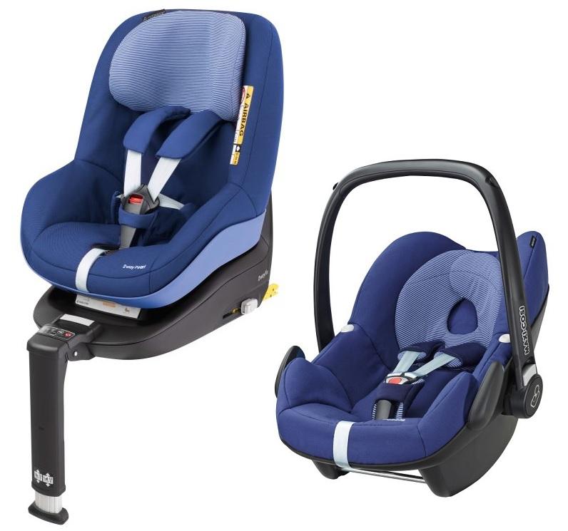 maxi cosi pebble incl 2way pearl and 2way fix base 2017 river blue buy at kidsroom car seats. Black Bedroom Furniture Sets. Home Design Ideas