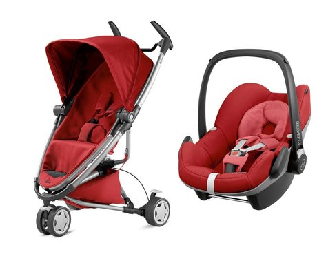 Quinny Zapp Xtra 2.0 incl. Maxi-Cosi infant carrier Pebble Red Rumour 2016 - large image