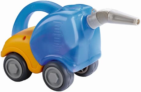 Haba Tank Truck - * Haba tanker – With this tanker your child will be able to transport and pour out water in a clever way.