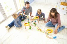 "Haba Ball Track Kullerbü ""Giant Rally Track"" - * Haba ball track Kullerbü ""Huge alley track"" – This toy does not leave anything to be required."