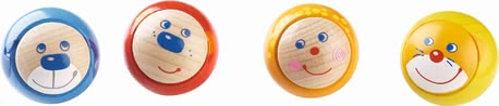 Haba Rollicking Rollers Set of 4 - * Haba display rollicking rollers, set of 4 - This toy is ideal for playing with or without a ball track.