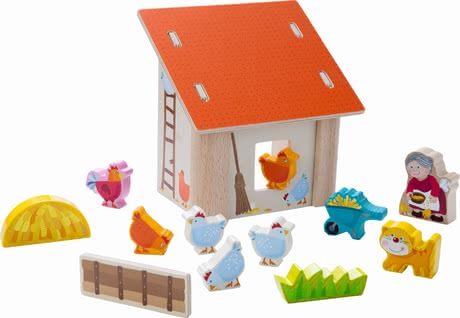 Haba play world grandma Laura's chicken coop 2017 - large image