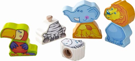 Haba pegging game zoo friends 2017 - large image
