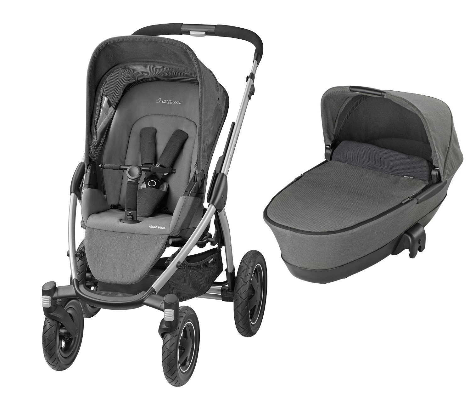 maxi cosi mura plus 4 incl dreamin carrycot attachment buy at kidsroom strollers. Black Bedroom Furniture Sets. Home Design Ideas
