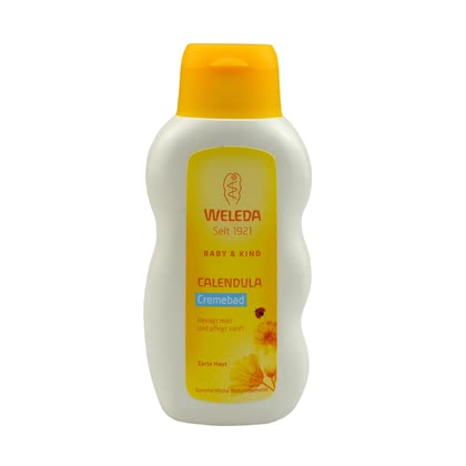 Weleda Calendula Cream Bath, 200 ml - * Weleda Calendula bathing cream, 200ml – This article is perfect for a relaxed bath and cleans and is mild to your baby's skin.
