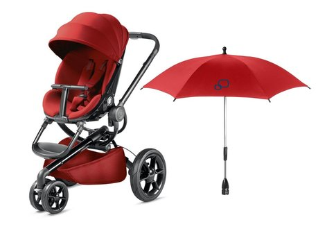 Quinny Moodd stroller incl. Parasol Red Rumour 2017 - large image