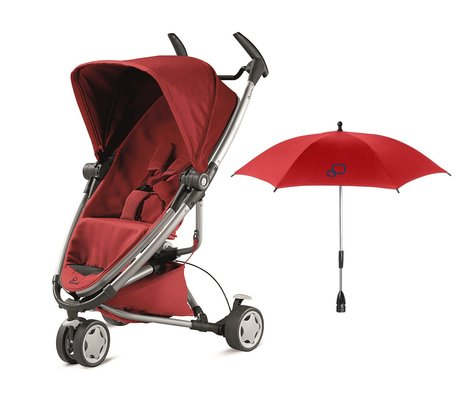 Quinny Zapp Xtra 2.0 incl. parasol Red Rumour 2016 - large image