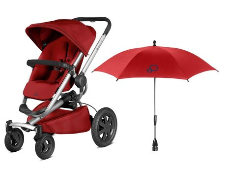 Quinny Buzz Xtra incl. parasol Red Rumour 2017 - large image