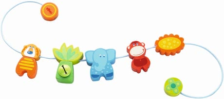 "Haba Pram Decoration ""Jungle Caboodle"" - * Haba pram decoration Jungle Caboodle – Every stroll will be a pleasure with this nice decoration."