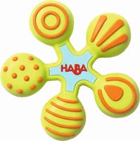 "Haba Clutching Toy ""Colour Ringlet"" - * Haba clutching toy star – This toy invited you to an exciting discovery tour."