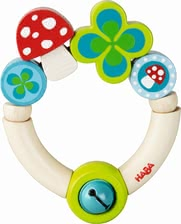 "Haba Clutching Toy ""Lucky Charm"" - * Haba grasping toy ""Lucky charm"" – A great gift for birth or christening."