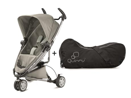 Quinny Zapp Xtra 2.0 Grey Gravel incl travel bag 2016 - large image