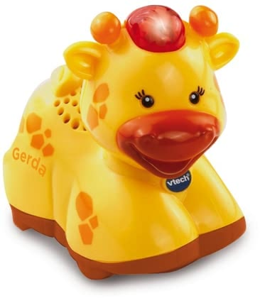 Vtech Tip Tap Baby Animals – Giraffe - * Vtech tip tap baby animals – giraffe – The magic giraffe by Vtech provides a lot of fun and is perfect to learn new things.