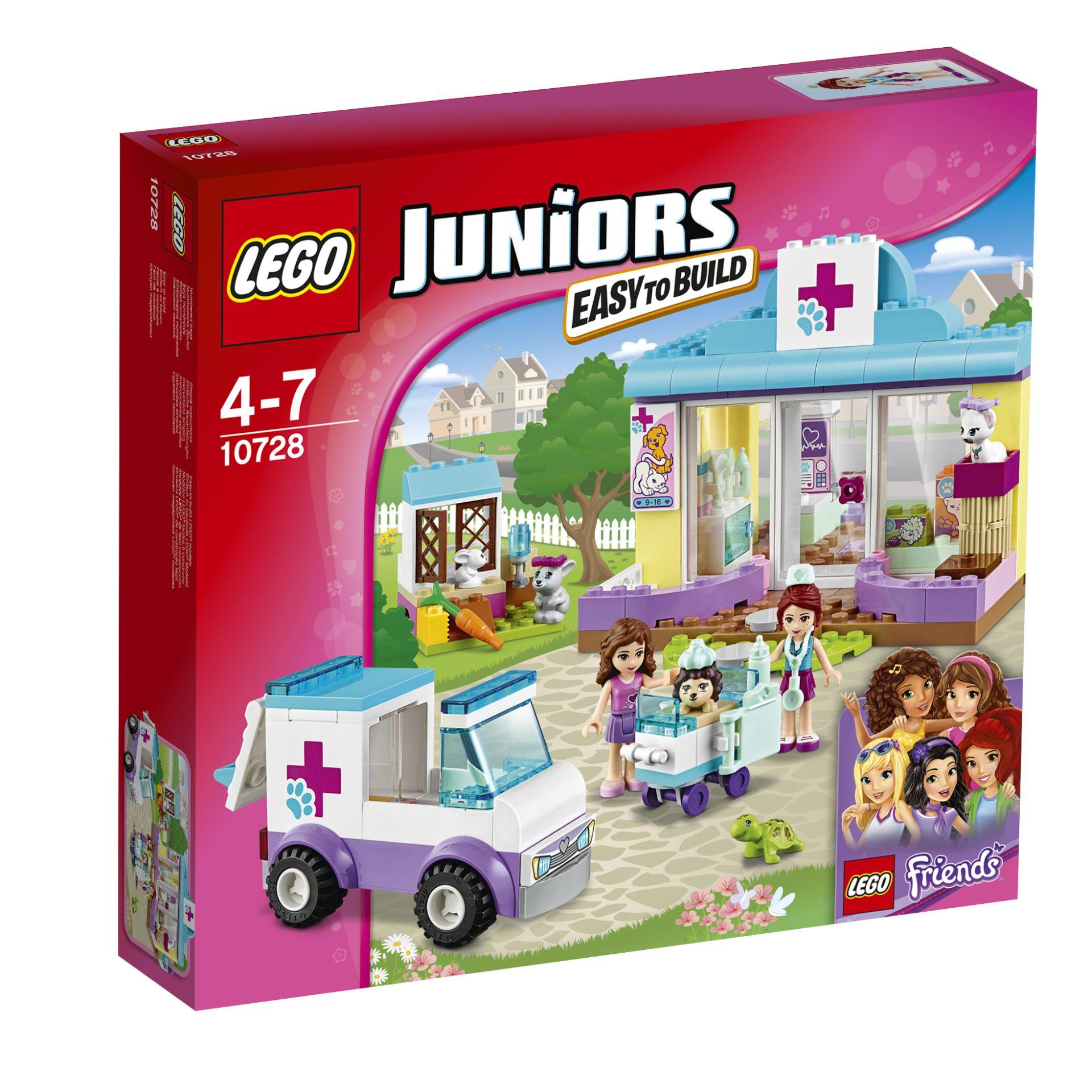 LEGO Juniors Mia's animal hospital 2016 - Buy at kidsroom ...