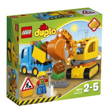 LEGO Duplo digger & lorry - * LEGO Duplo digger & lorry – A great set for digging and having fun.