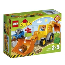 LEGO Duplo backhoe-loader