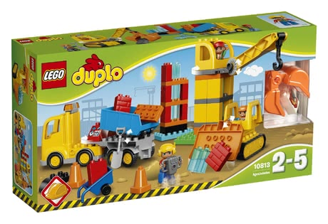 LEGO Duplo big construction site - * LEGO Duplo big construction site – This construction site contains everything you need for a role play.