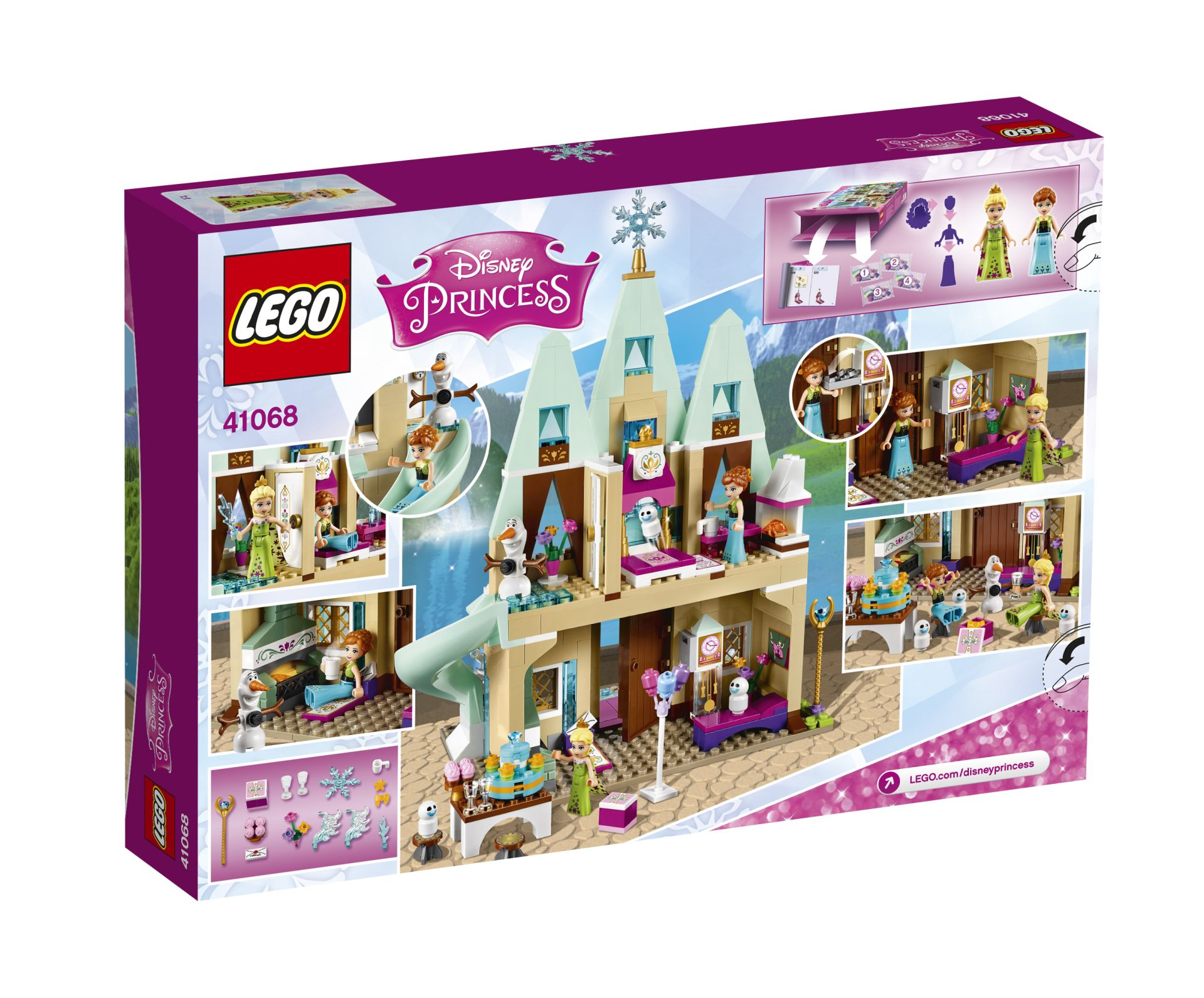 LEGO Disney Princess party in a big castle by Arendelle ...