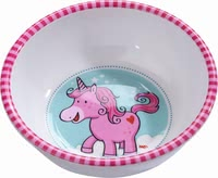 Haba Bowl Unicorn Glitterluck - * The bowl is perfect for soup and mash.