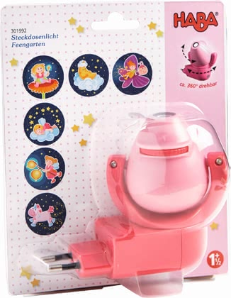 "Haba Plug-In Night Light ""Fairy Garden"" - * As soon as it gets dark, this little nightlight will help your little one to get to sleep."