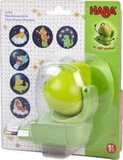 "Haba Plug-In Night Light ""Good-Night-Dragon"" - * As soon as it gets dark, this little nightlight will help your little one to get to sleep."