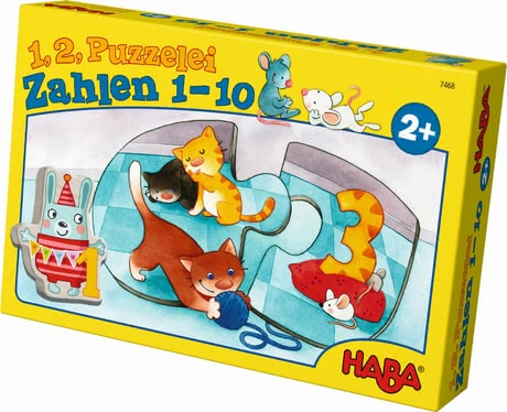 Haba One, two, puzzle-to-do – Numbers from 1 to 10 2017 - large image