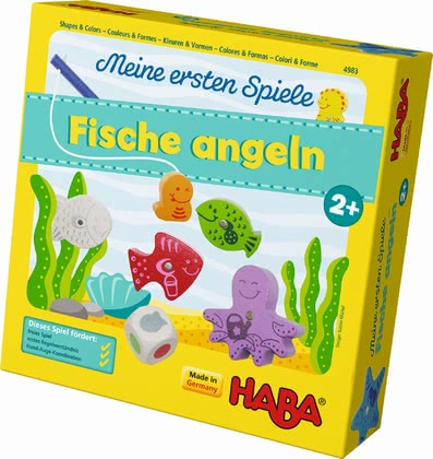 Haba My First Games – Fun Fishing - * Going fishing can be a lot of fun to the littlest ones with this game.