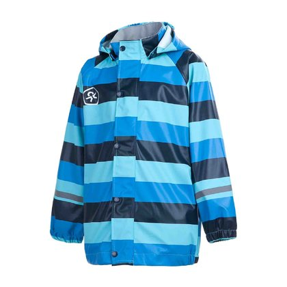 Color Kids BATLEY Rain Jacket -  * Stylish and colourful – The rain jacket BATLEY by Color Kids satisfies your child and lifts his mood even on rainy and misty days.