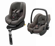 Maxi-Cosi – leather edition – 2Way Family Concept - Pure luxury – this set will accompany you and your child with an excellent profile of safety.