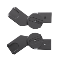 Cybex M-Line Adaptors (Set) -  * Space-saving and flexible – the Cybex M-Line adapters easily connect the Cybex Aton Infant Car Seat Carrier with your Cybex stroller.