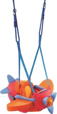 "Haba Aircraft Swing - * The littlest ones will love to ""fly"" aroung the nursery with this swing by Haba."