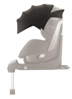Recaro Sun Canopy for Child Car Seat Zero.1 - The large sun canopy comes with UVP 40+ and protects your little one from direct sunlight.