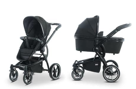 Moon multi-functional stroller Cool with aluminium carrycot black_structure 2019 - large image