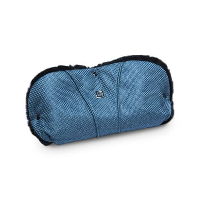 Moon Handmuff with fur insert - * A useful hand muff with fur inserts for your Moon stroller.