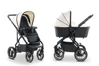 Moon Multi-Functional Stroller Nuova Special with Aluminium Carrycot - * This stroller is a real eye-catcher. High-quality manufacture and striking designs will make it very special.