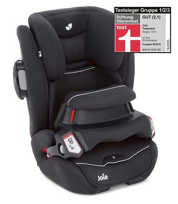 Joie Car Seat transcend™ - * This car seat will offer a unique all around protection until the end of the compulsory use of a child car seat.