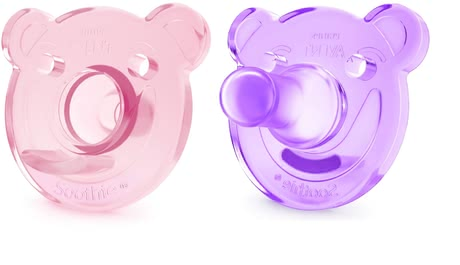 AVENT Soothie shapes pacifier - * This unique soother by AVENT will help you to comfortably nurse your little one.