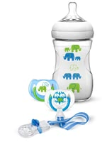AVENT Natural Gift Set Elephants - * AVENT Naturnah gift set Elephant – The perfect welcome gift for your little one.