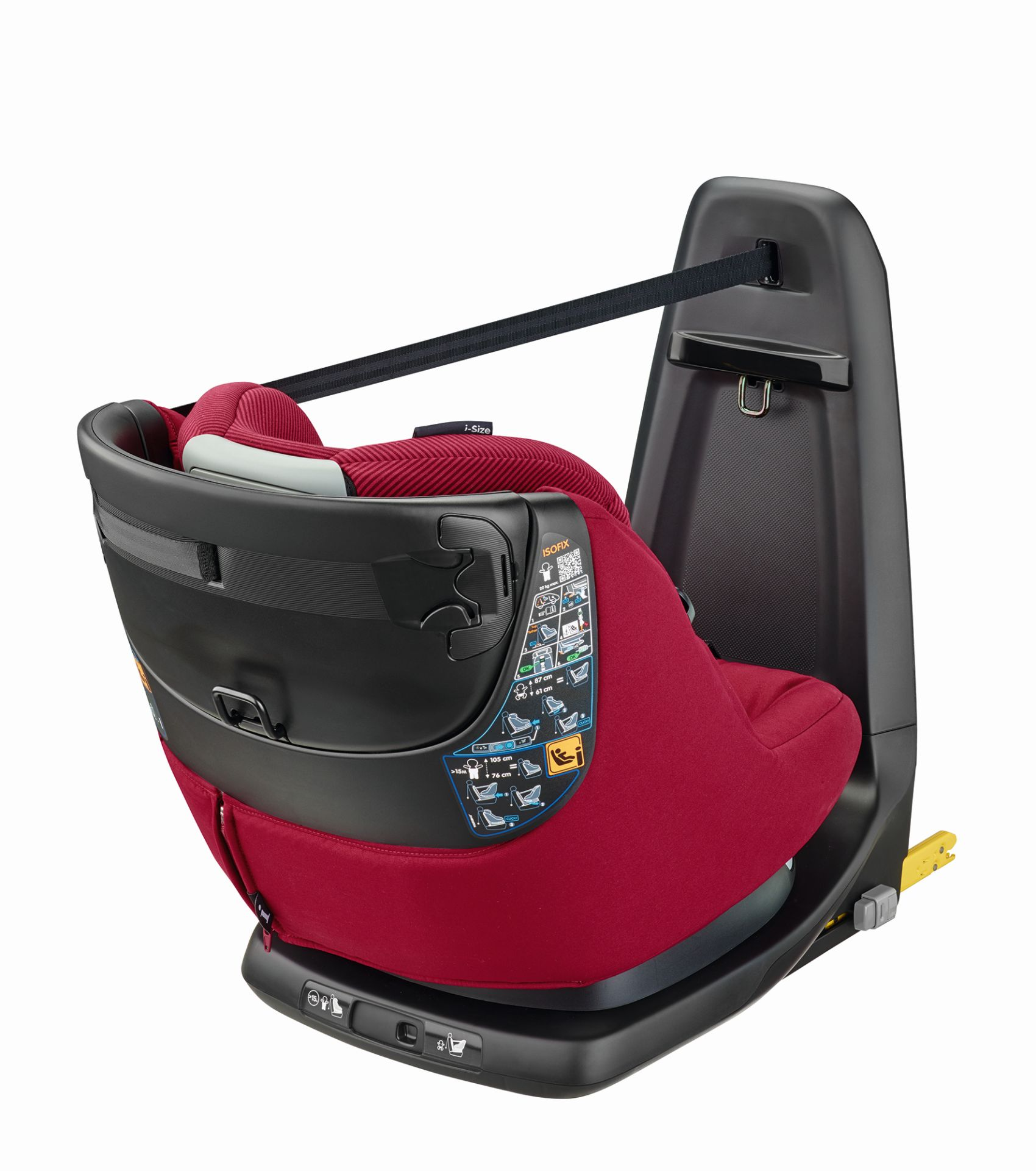 maxi cosi axissfix car seat i size 2017 robin red buy at. Black Bedroom Furniture Sets. Home Design Ideas